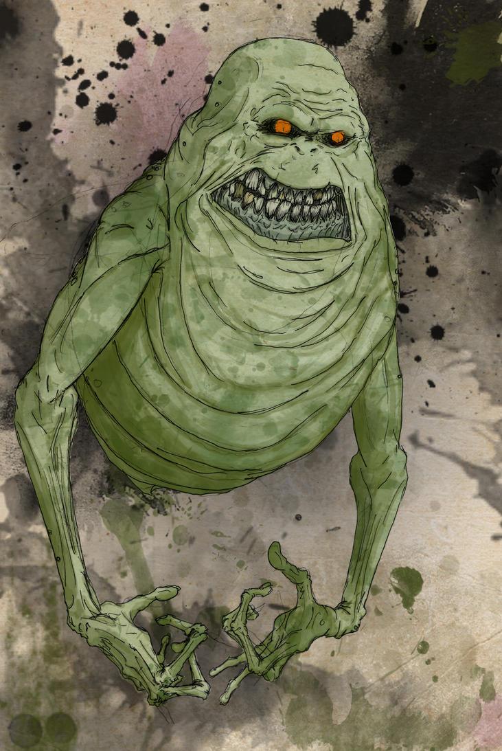 Ghostbusters - Slimer by T-RexJones