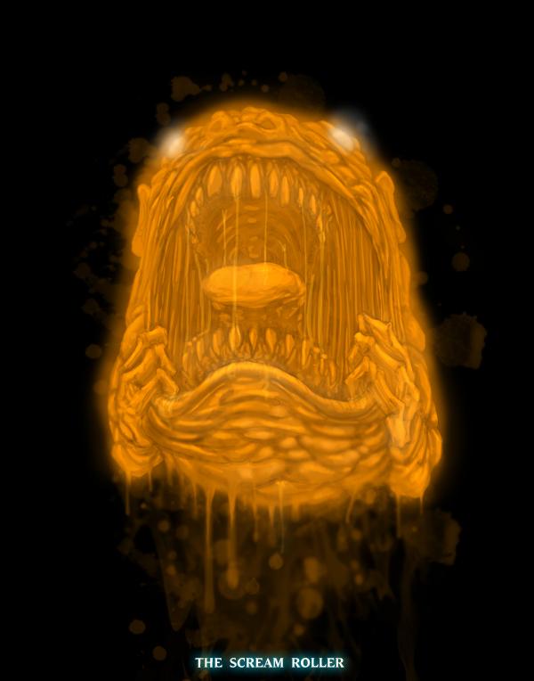 Ghostbusters - Scream Roller by T-RexJones