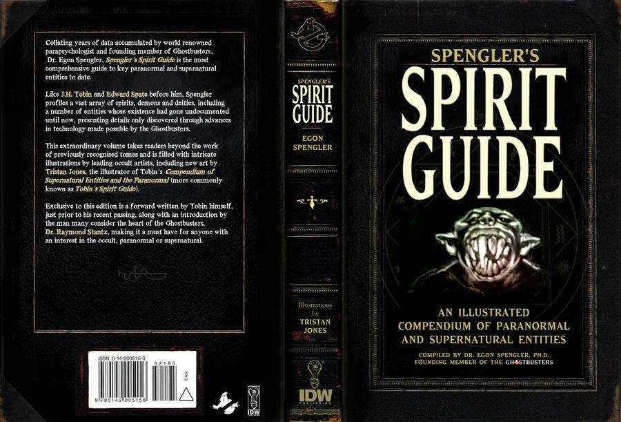 Spengler's Spirit Guide Cover by T-RexJones