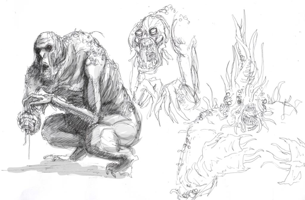Sewer Freaks by T-RexJones