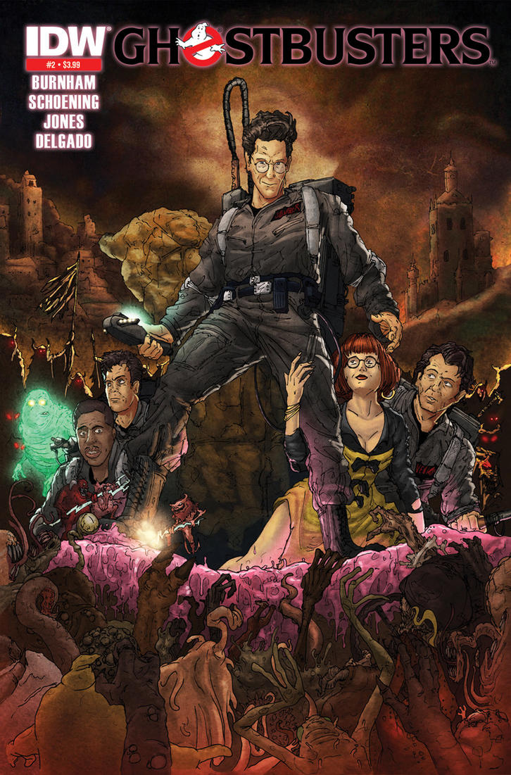 Ghostbusters 2 Reprint Cover by T-RexJones