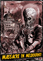 Mars Hates Melbourne by T-RexJones
