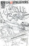 Ghostbusters #9 Sketch Cover 4