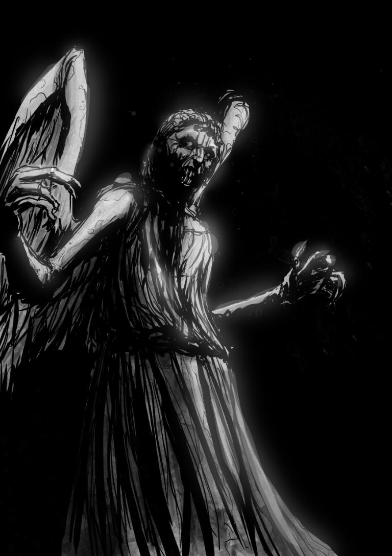 Weeping Angel by T-RexJones