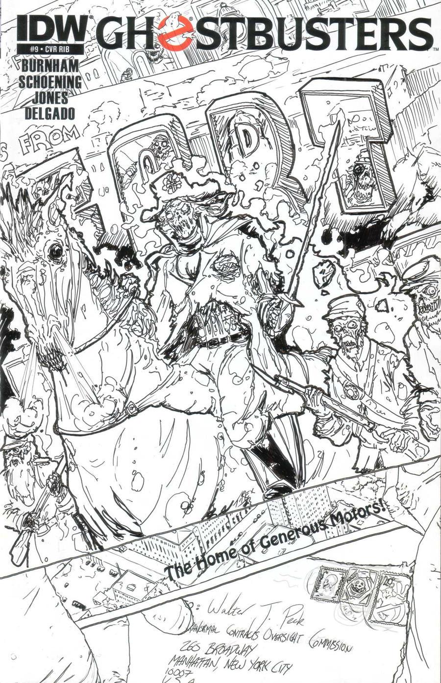 Ghostbusters 9: Fort Wayne by T-RexJones