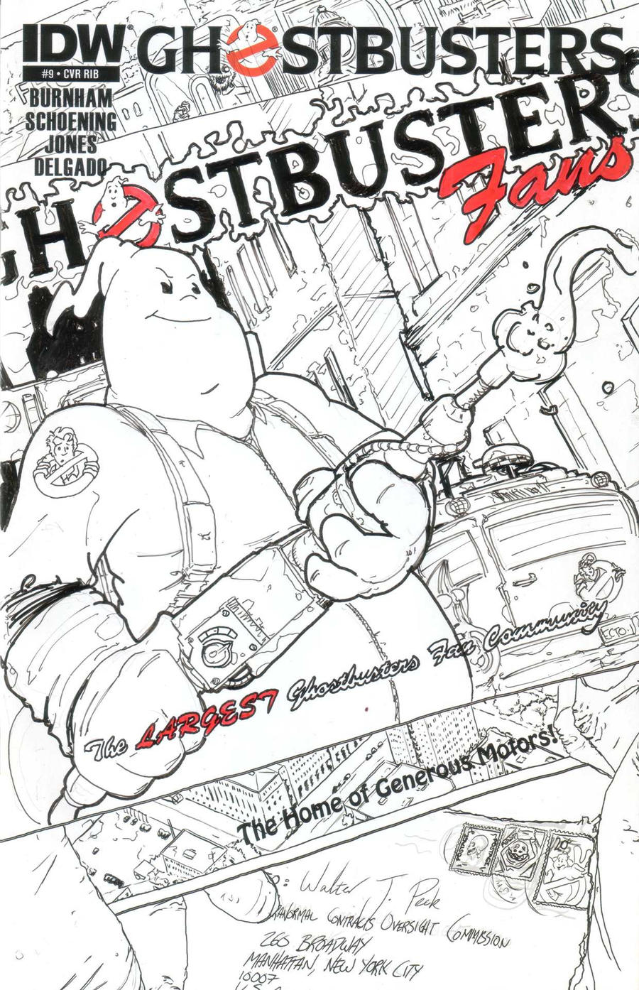 Ghostbusters 9: GBFANS.COM Exclusive by T-RexJones