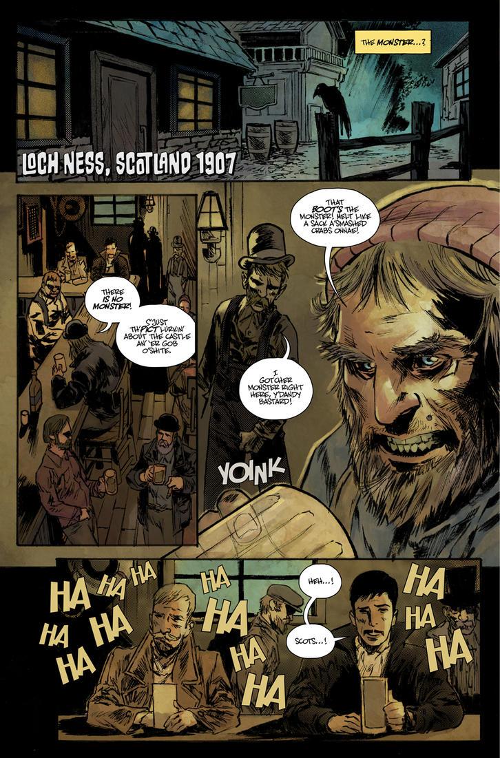 Sebastian Hawks prologue page 1 by T-RexJones