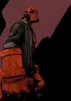 Hellboy by T-RexJones