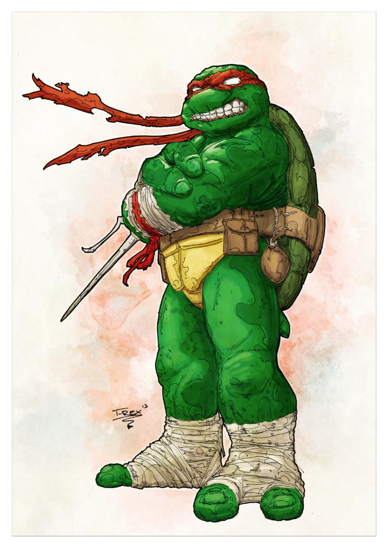 Classic Raphael by T-RexJones