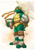 Classic Michelangelo by T-RexJones