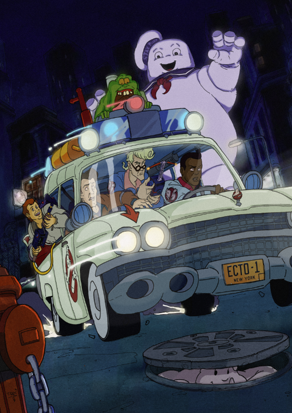 The Real Ghostbusters #16 comic cover