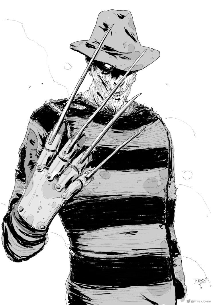 Freddy Krueger by T-RexJones