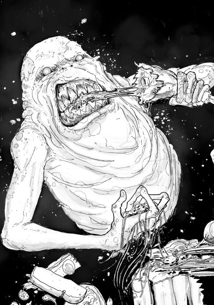 Slimer by T-RexJones