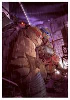 Ninja Turtles by T-RexJones