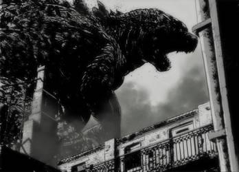 Godzilla by T-RexJones