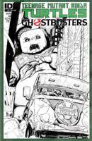 Ghostbusters/TMNT #2 by T-RexJones