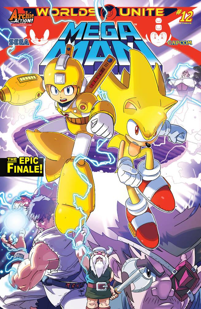 Mega Man #52 Cover by T-RexJones