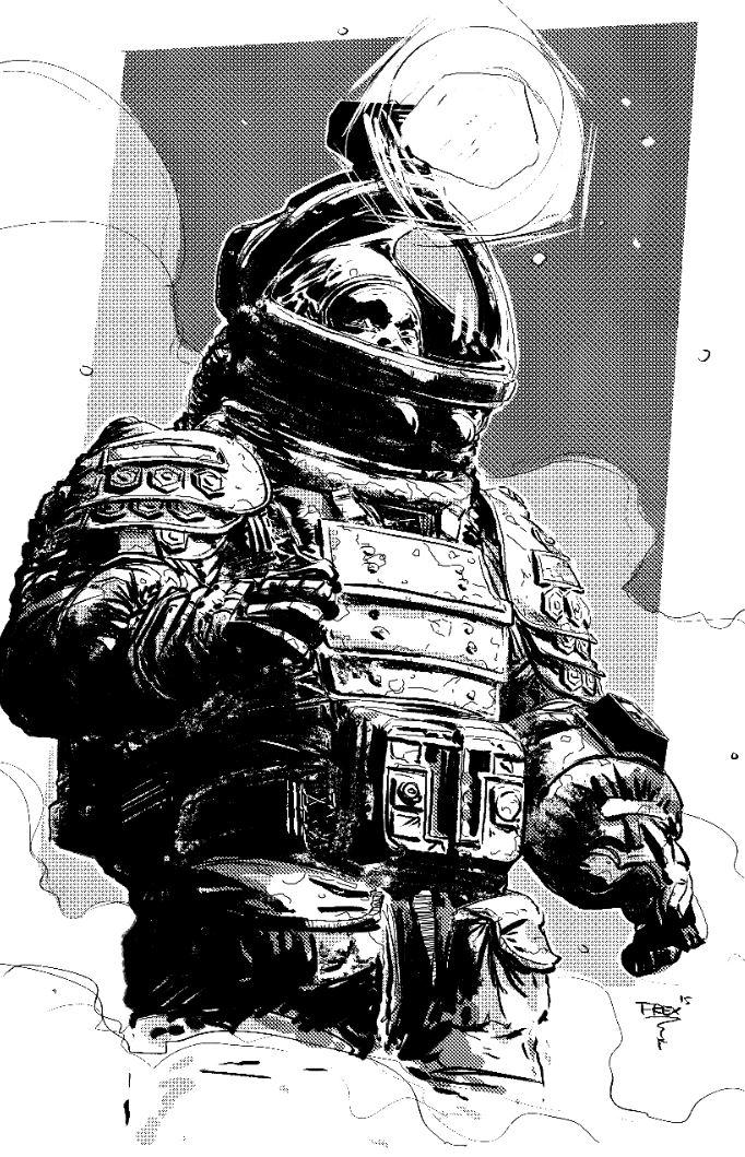 Astronaut by T-RexJones