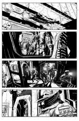 Aliens: Defiance #1 Page 5 by T-RexJones