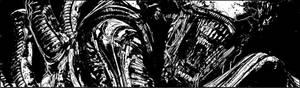 Aliens: Defiance #2 panel