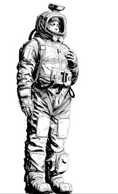 Hollis in compression suit