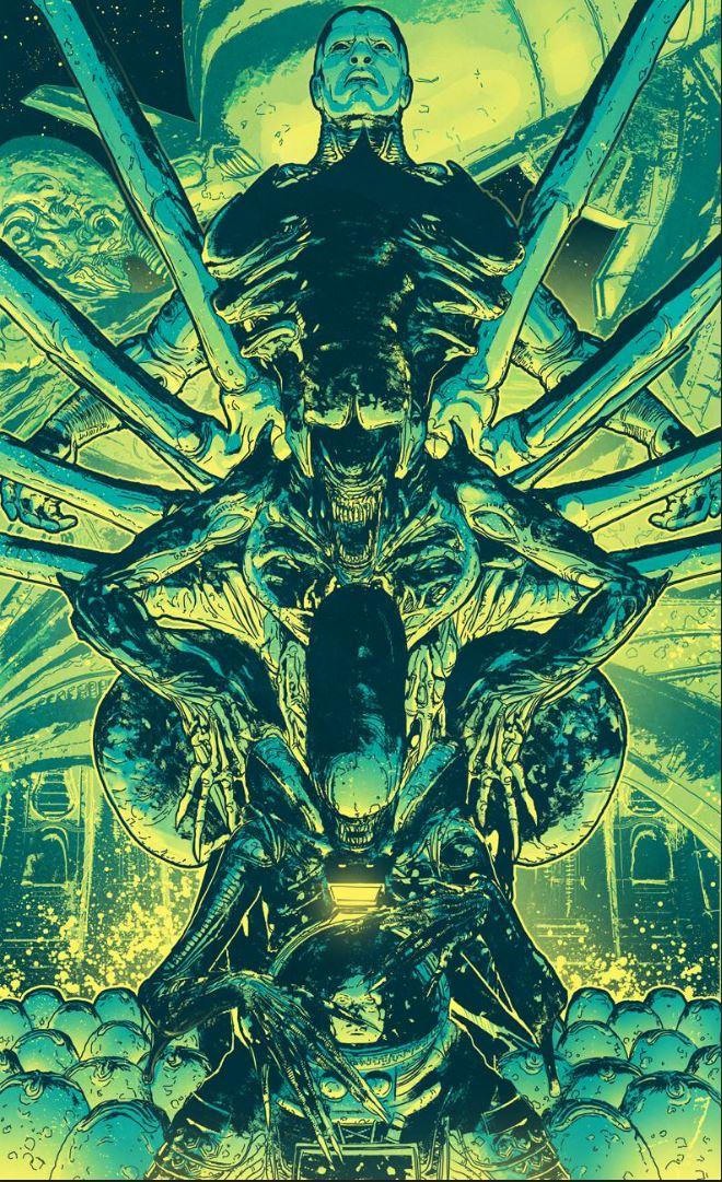 Final Alien Day Poster Art By T Rexjones On Deviantart
