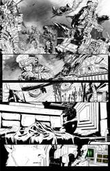 Aliens: Defiance #2 Page 1 by T-RexJones
