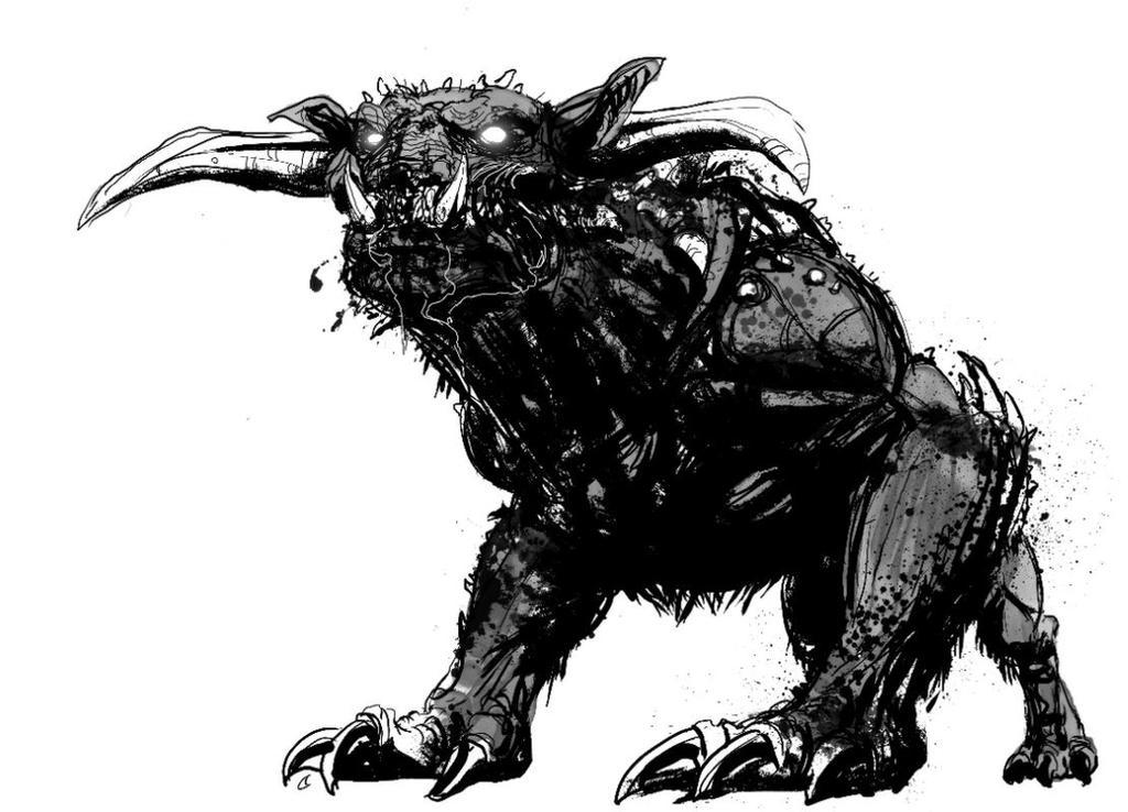 Terror Dog by T-RexJones