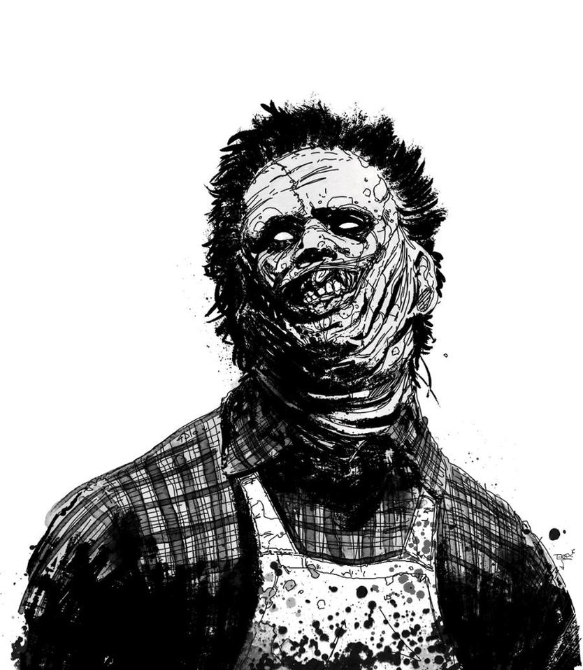 Leatherface by T-RexJones