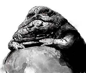 Jabba the Hutt by T-RexJones