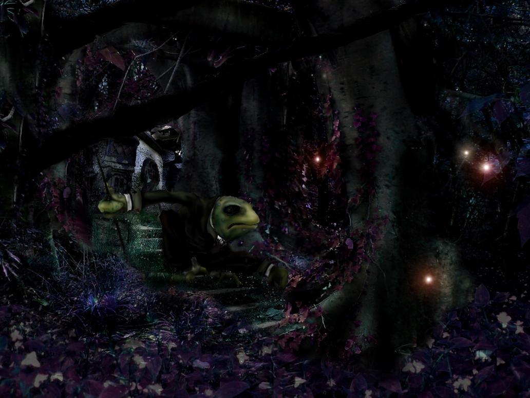 The Frog Footman by T-RexJones