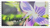 'Flowers' Stamp. by ECC500