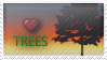 'Trees' Stamp. by ECC500