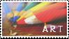 'ART' Stamp.