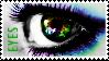 'EYES' Stamp.