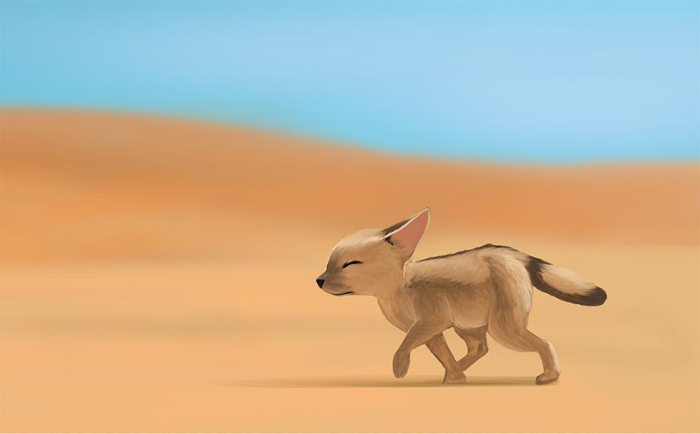 Desert Fox Practice by Elrad-o