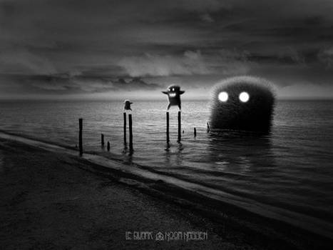 THE BAD DEEP by LEQUARK