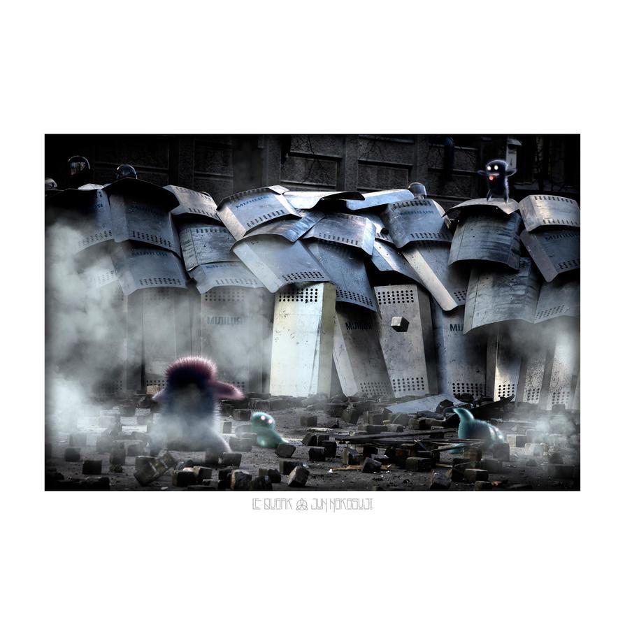 THE BAD GRAND SOIR by LEQUARK
