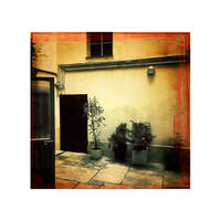 In The Small Courtyard by LEQUARK