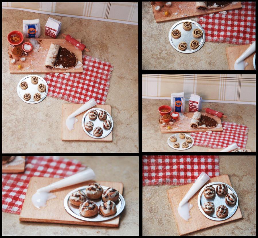 Cinnamon Buns Prep Board by PoppyCorn99