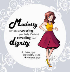 Modest is Hottest by PoppyCorn99