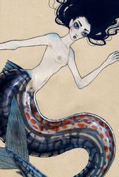 Mackerel Mermaid by Nimiaka