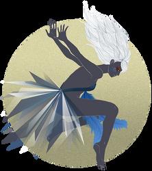 The Fairy in the Moon by Nimiaka