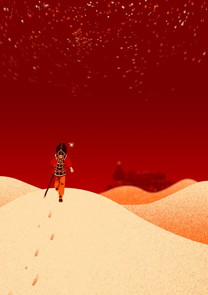 Desert's Pilgrim by Nimiaka