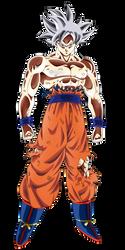 Goku Mastered Migatte no Gokui by Andrewdb13