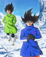 Goku and Vegeta New Movie by Andrewdb13