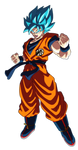 Goku Ssj Blue Dragon Ball Super Broly
