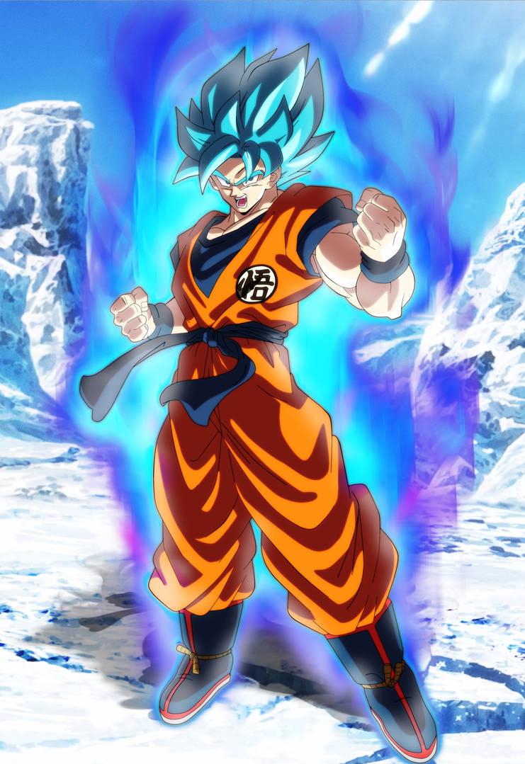 Goku Ssj Blue Dragon Ball Super Broly by Andrewdb13 on DeviantArt