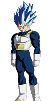Vegeta Ssj Blue Evolution by Andrewdb13