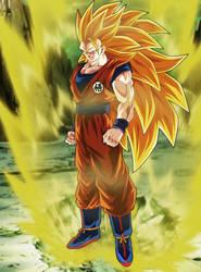 Goku Ssj3 by Andrewdb13